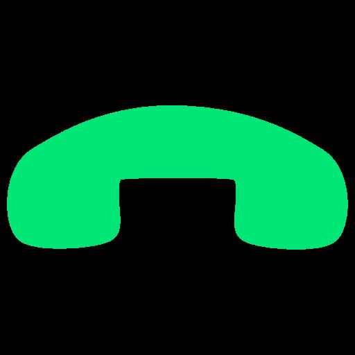 電話を切るアイコン