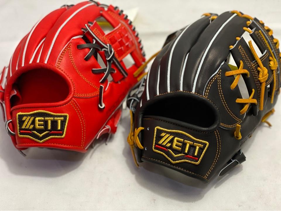 ZETT プロステイタス サイズ1と2